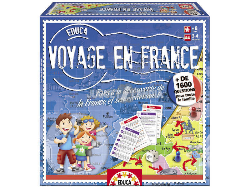 Educa Voyage En France Educa 14570
