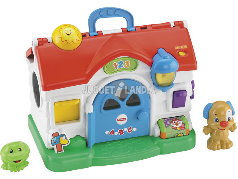 Fisher Price Rie y Aprende Casa Parlanchina
