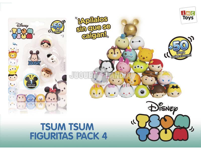 Tsum Tsum Pack 4 Figuras