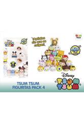 Tsum Tsum Pack de 4 figurines