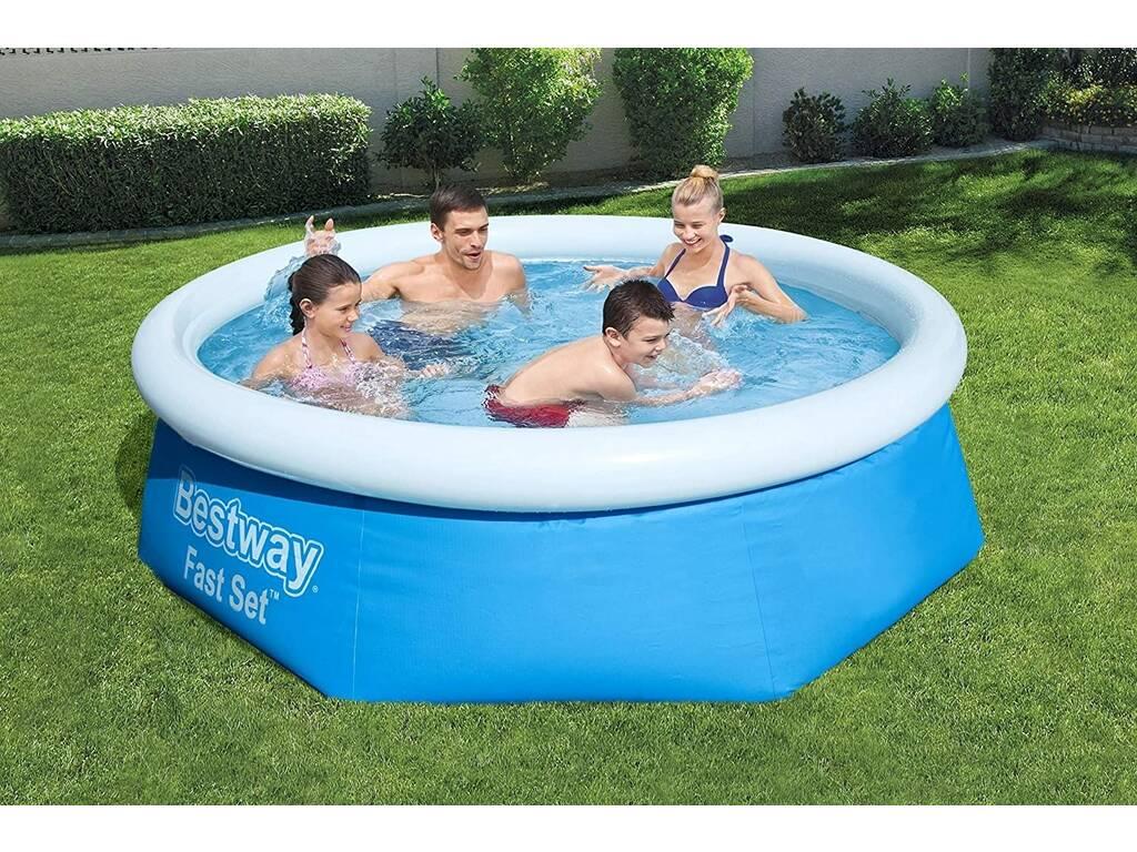 Piscina fuoriterra 244x66 cm bestway 57265 juguetilandia - Misure piscina bestway ...