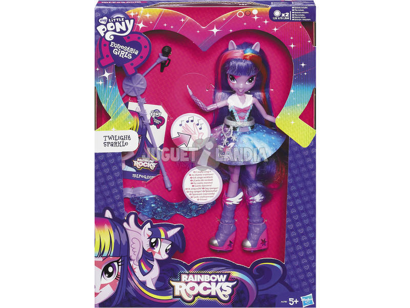My little pony Equestria girl chanteuse