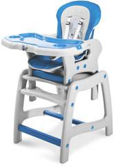 Trona (chaise haute) Bleu/Gris Raining