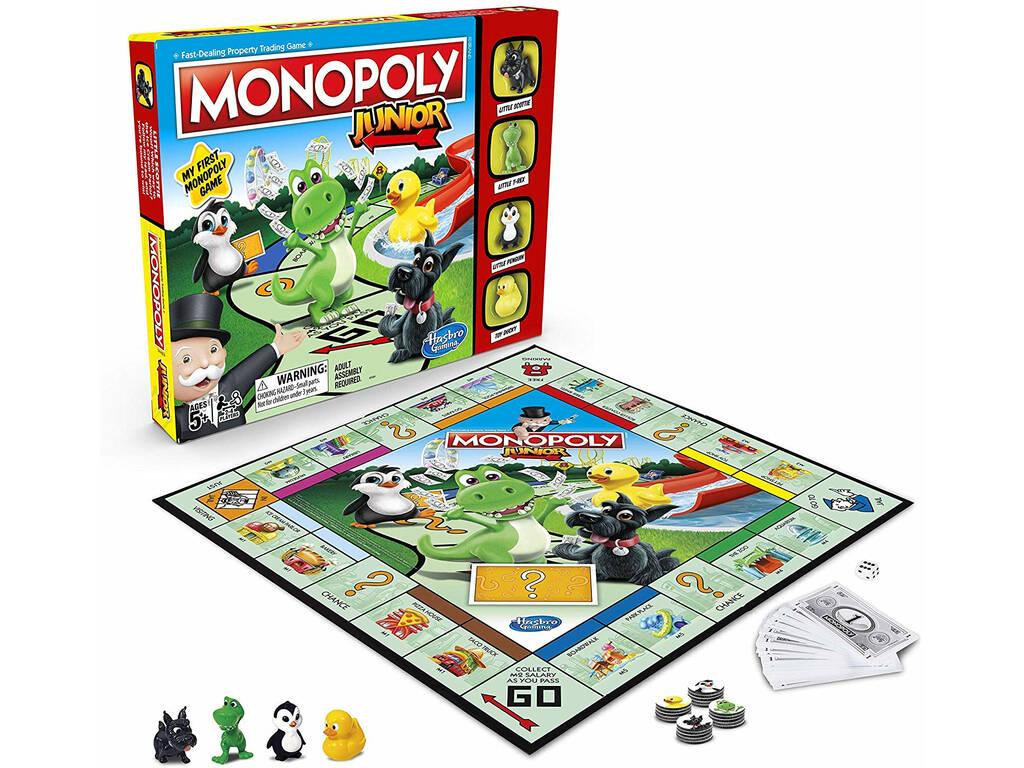 Hasbro Gaming Juego De Mesa Monopoly Junior A6984 Tienda De Regalos