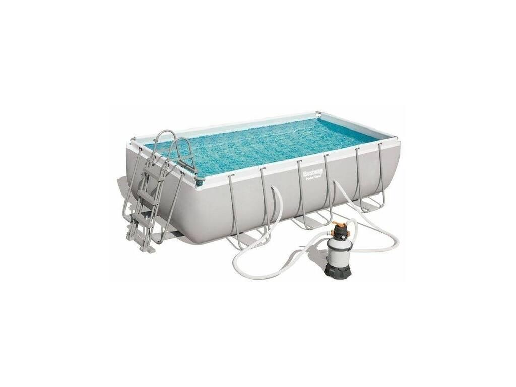 piscina desmontable 404x201x100 cm.bestway