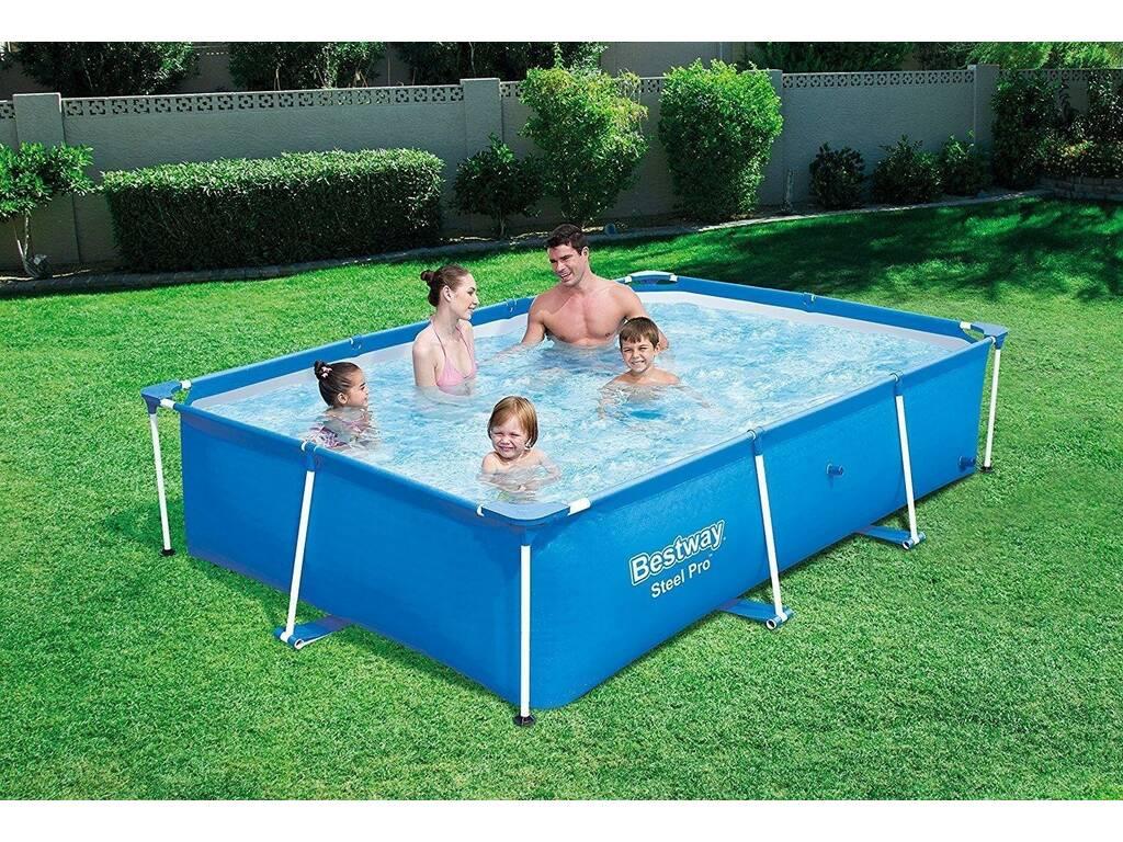 Piscina fuori terra 259x170x61 cm bestway 56403 for Comprare piscina fuori terra