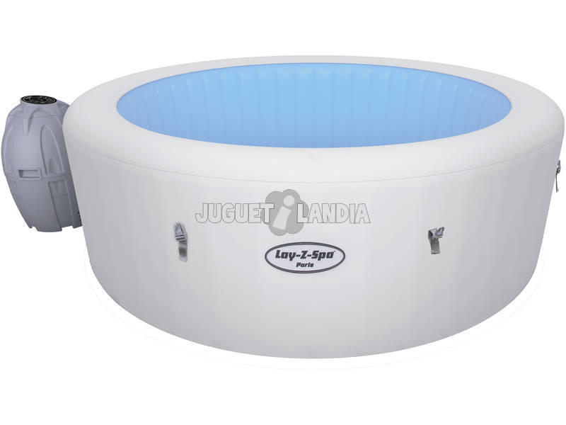 Jacuzzi gonfiabile 196x66. LAY-Z- SPA Bestway 54148 PARIS