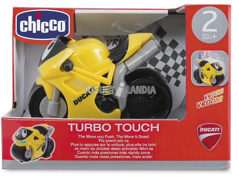 Turbo Touch Ducati Amarela