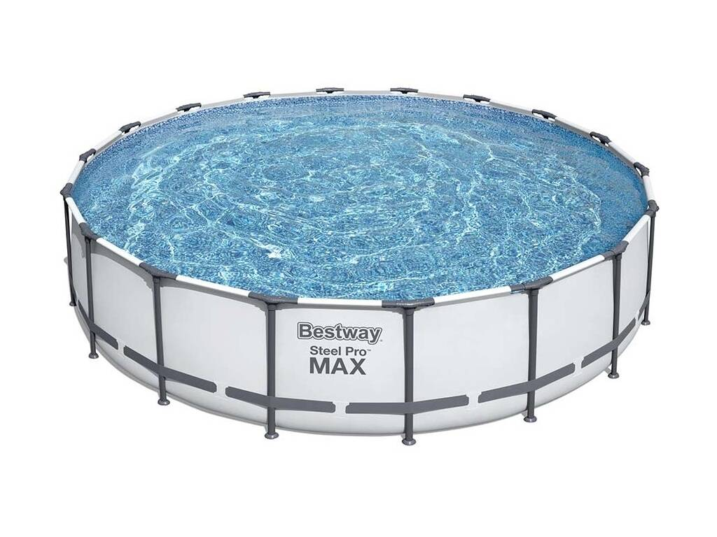 Abnehmbares Schwimmbad Steel Pro Max 549x122 cm. Bestway 56462