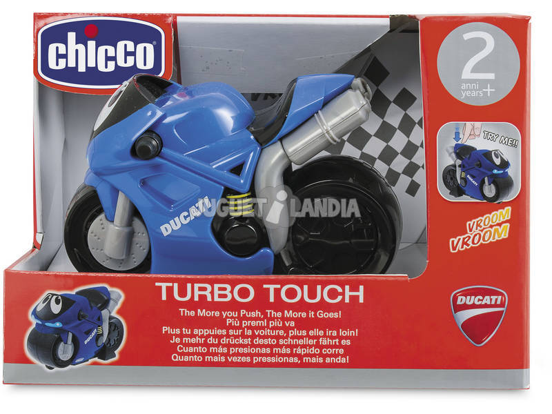 Turbo Touch Ducati Azul