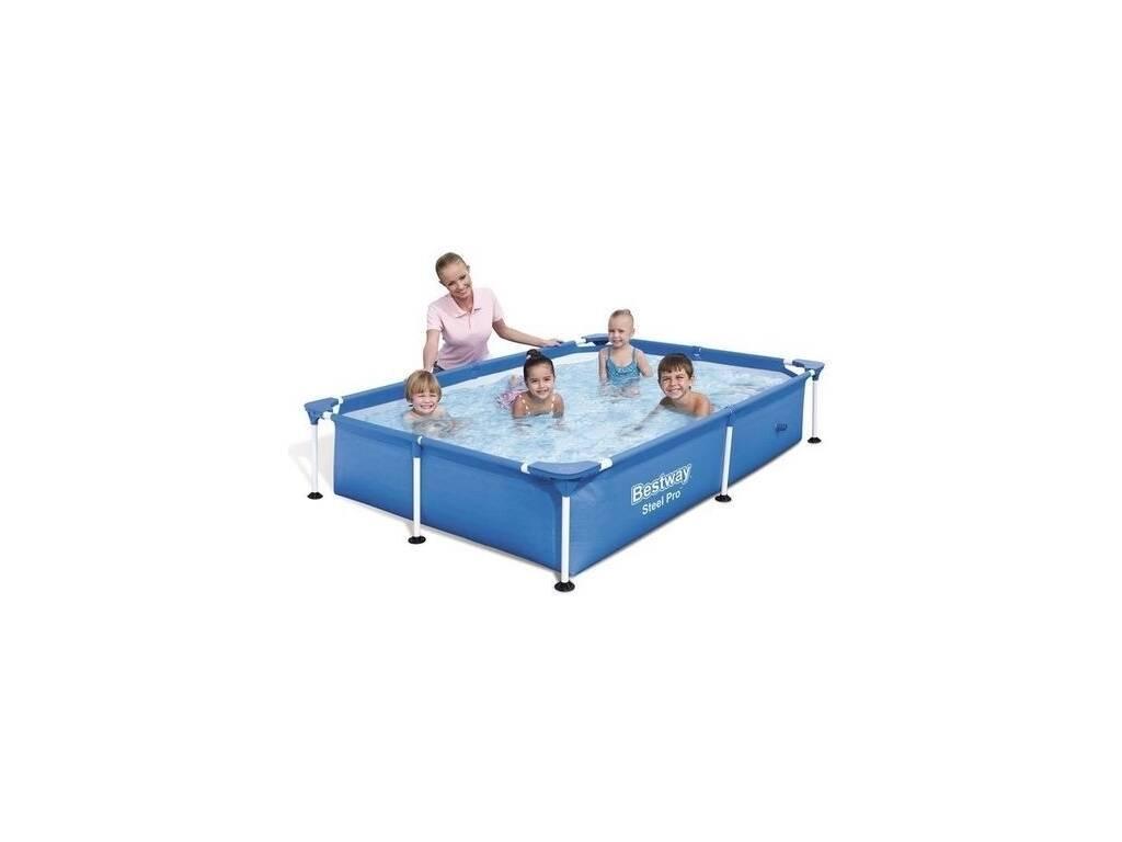 Piscina desmontable 221x150x43 cm bestway 56401 for Juguetilandia piscinas desmontables