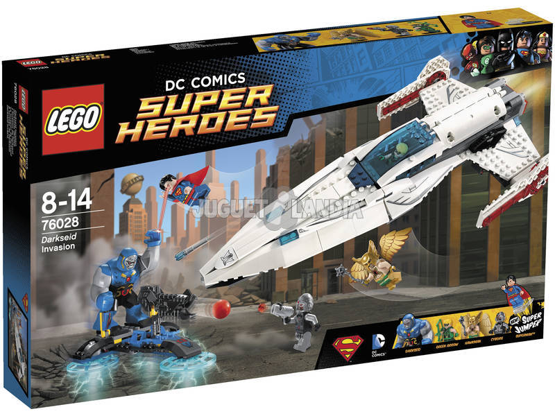 Lego SH L'invasion de Darkseid