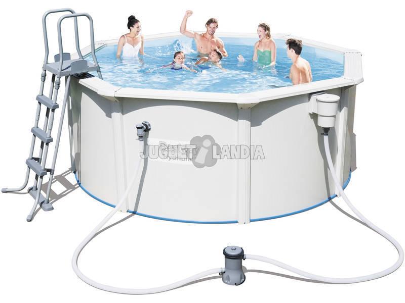 Piscina fuori terra hydrium 300x120 cm bestway 56563 for Comprare piscina fuori terra