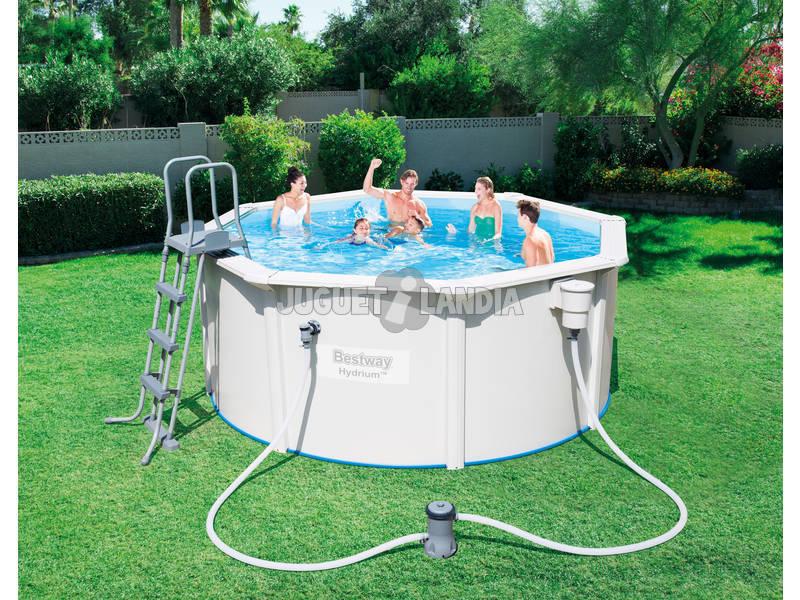 Piscina desmontable hydrium 300x120 cm bestway 56563 for Ofertas piscinas bestway