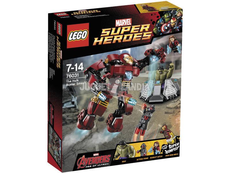 Lego SH El Golpe Demoledor de Hulk