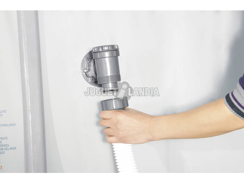 acheter pompe de filtration sable 5 678 l h bestway 58404 juguetilandia. Black Bedroom Furniture Sets. Home Design Ideas