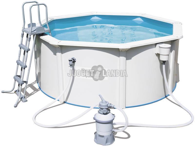 acheter piscine hors sol hydrium 300 x 120 cm bestway 56566 juguetilandia. Black Bedroom Furniture Sets. Home Design Ideas