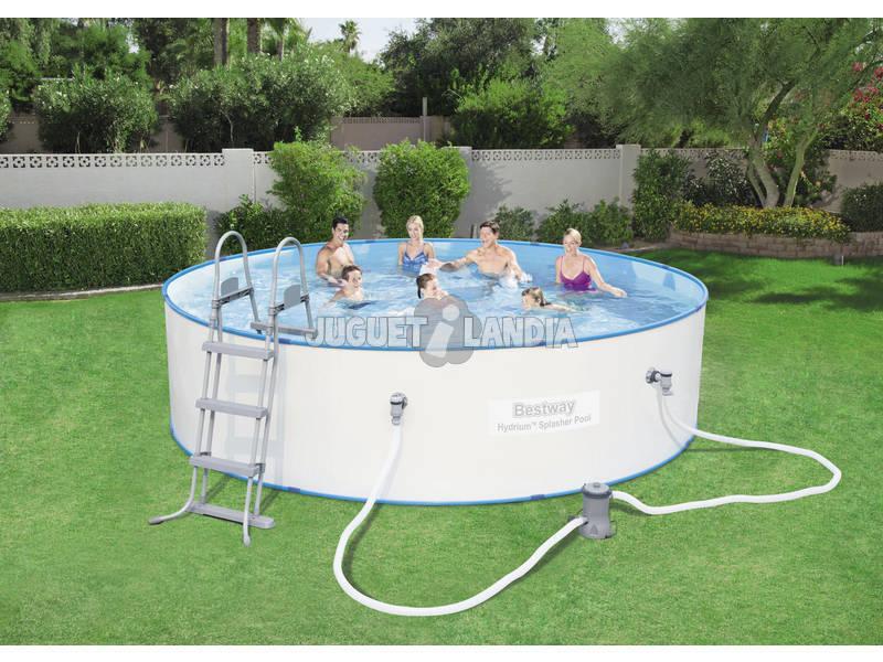 Acheter piscine ronde hors sol hydrium 360 x 90 cm bestway for Piscine hors sol 360 x 120