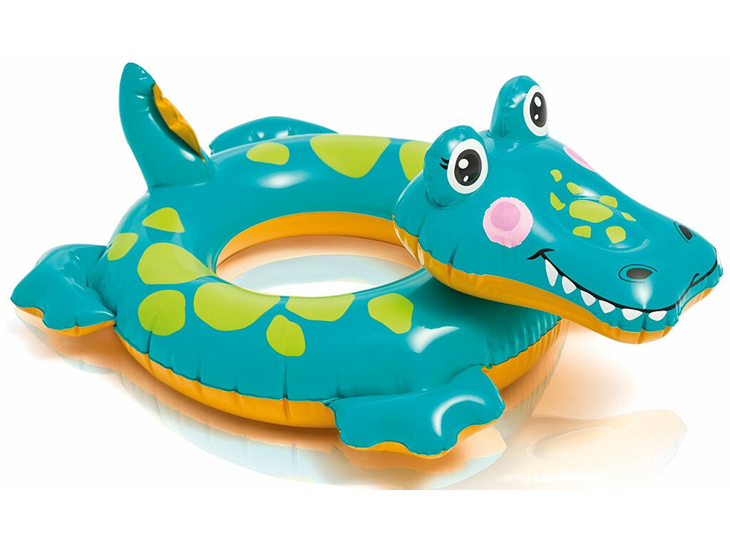 Flotador Hinchable Cabeza Animales Intex 58221NP