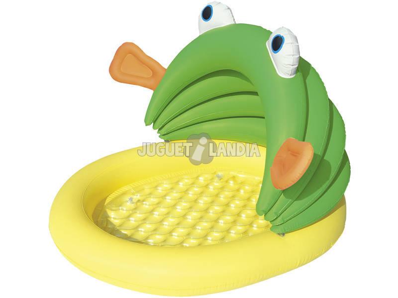 Piscina Hinchable Pescaditos 107x104x71 Cm Bestway 52162
