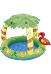 Aufblasbarer Pool 99x91x71 cm.Dschungel