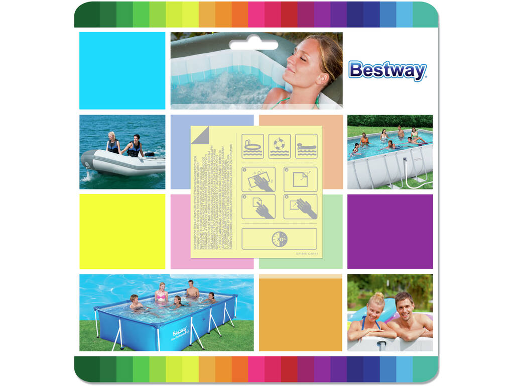 Parches De Reparacion Impermeable Bestway 62091