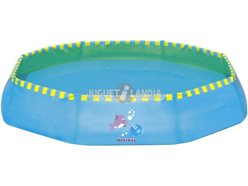 Piscina Portatil Infantil Azul 99x99 Cm Bestway 51126