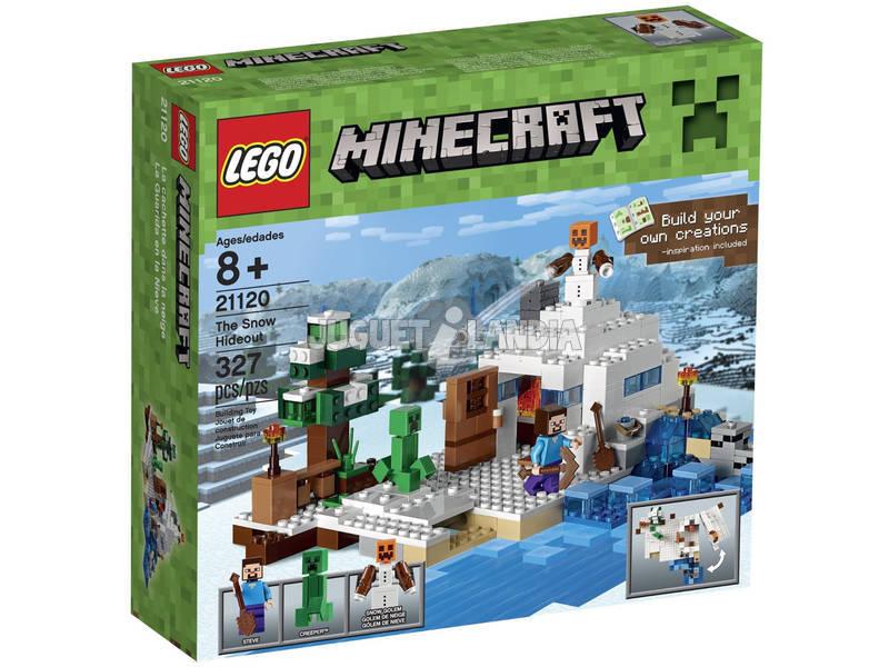 Lego Minecraft La Guarida En La Nieve