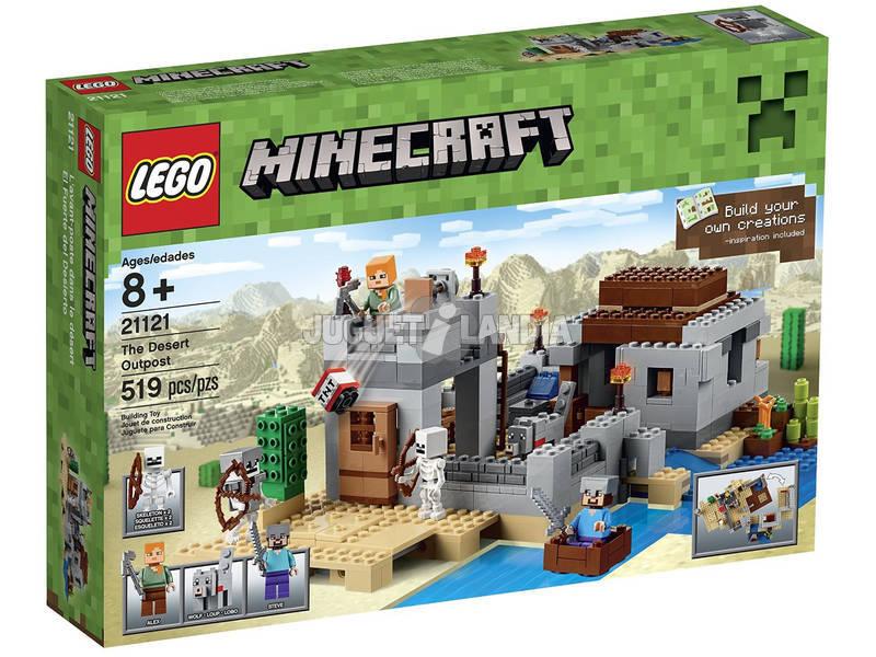 Lego Minecraft El Fuerte del Desierto