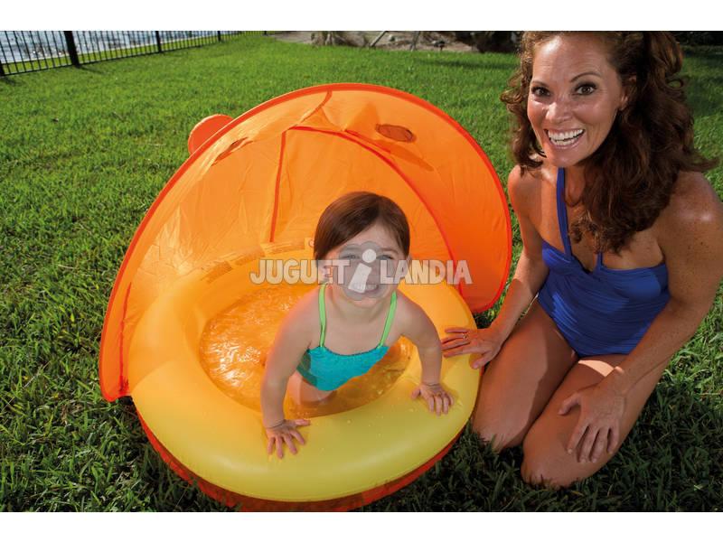 Acheter piscine gonflable 97 x 97 x 74 cm avec toit for Acheter piscine gonflable
