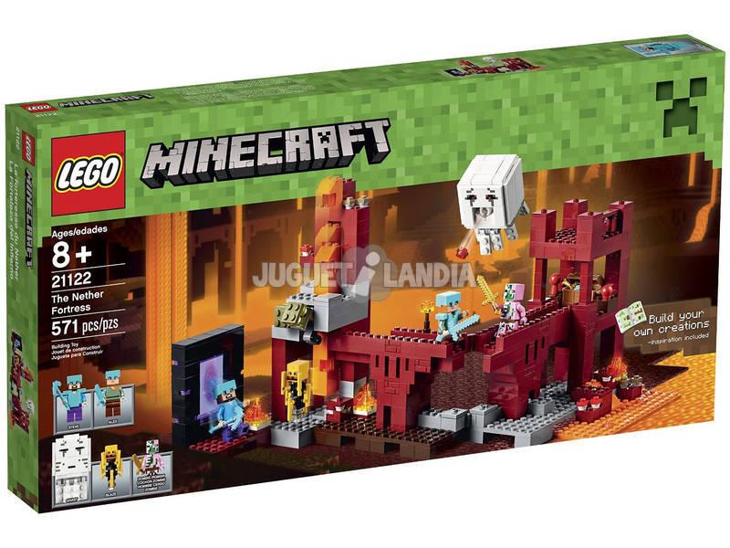 Lego Minecraft La Fortaleza Del Infierno