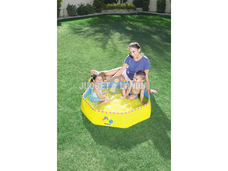 Acheter piscine portable 99x99 cm jaune juguetilandia for Piscine transportable