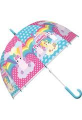 Paraguas Unicornio 46 cm. Kids KL10566