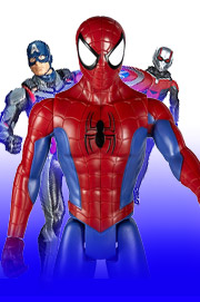 Spielzeuge von Superhelden