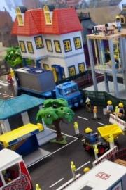 Plamobil cidade edifícios