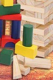 Jeux construction en bois