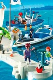 Playmobil ville port