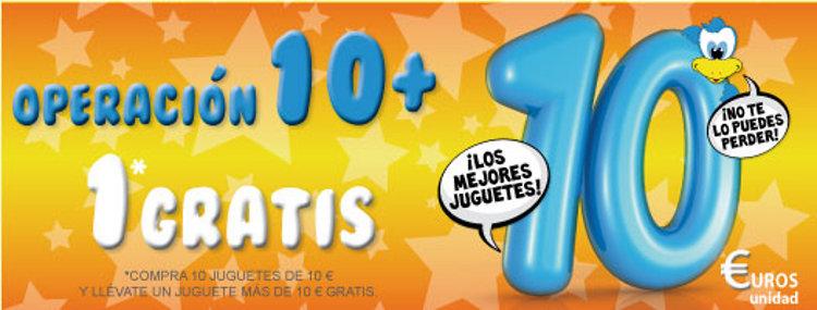 Operación 10 + 1 Gratis