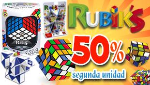 Oferta 50% 2ª Unidad Rubik's