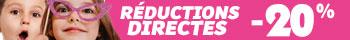 Réductions directes de 10% à 50% sur une sélection d'articles
