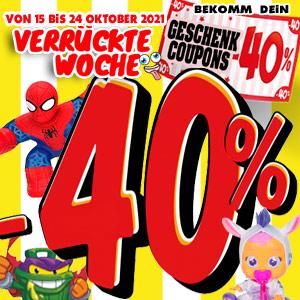 Geschenkgutschein 40%
