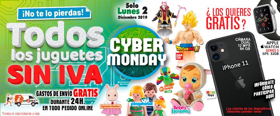cyber monday juguetes