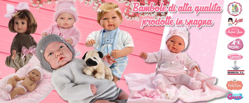 Bambole fatte in Spagna