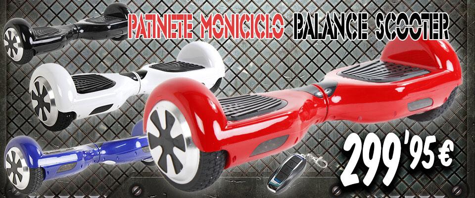 Patinete Monociclo Balance Scooter