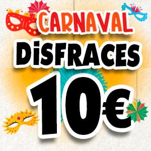 Disfraces a 10 €