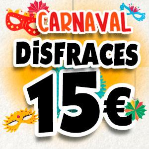 Disfraces a 15 €