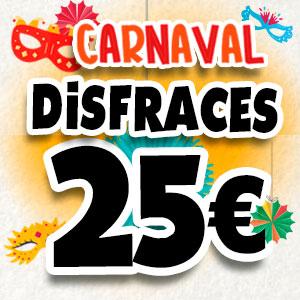 Disfraces a 25 €