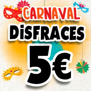 Disfraces a 5 €