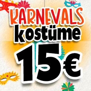 Kostüme für 15 Euro