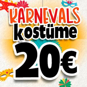 Kostüme für 20 Euro